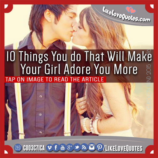 10 things to make your relationship better