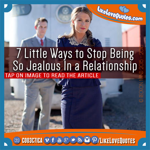 ways to stop being paranoid in a relationship