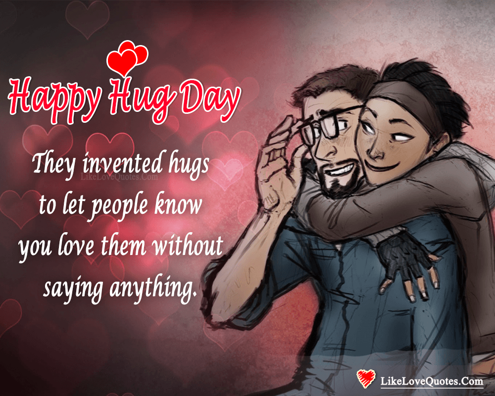 Happy Hug Day My Sweet Heart-likelovequotes, likelovequotes.com ,Like Love Quotes