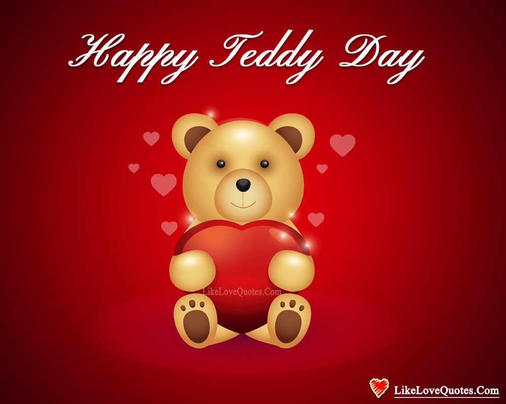 Happy Teddy Day My Sweet Heart-likelovequotes, likelovequotes.com ,Like Love Quotes