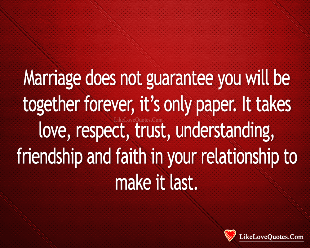 Have Faith In Your Relationship To Make It Last