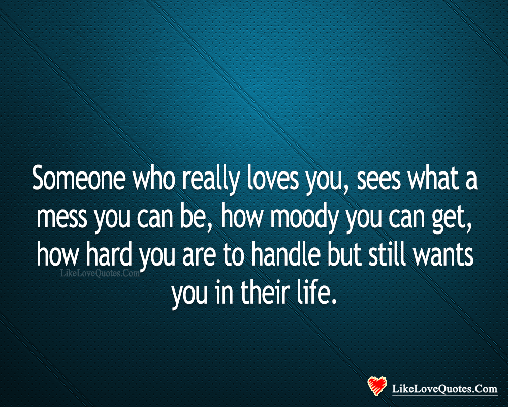 Someone Who Really Loves You-likelovequotes, likelovequotes.com ,Like Love Quotes
