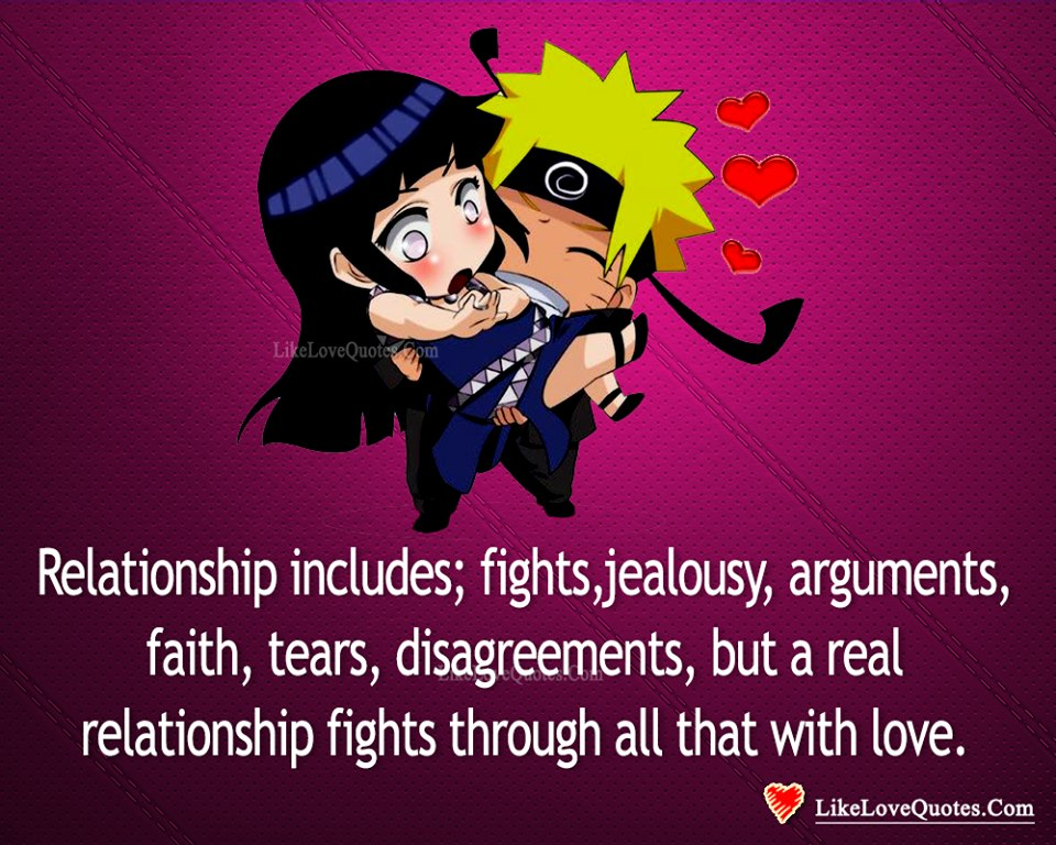 Relationship Includes Fights & Disagreements-likelovequotes, likelovequotes.com ,Like Love Quotes