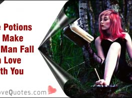 Love Potions to Make your Man Fall in Love with You-likelovequotes