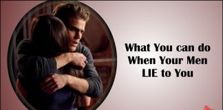 What You can do When Your Men LIE to You-likelovequotes