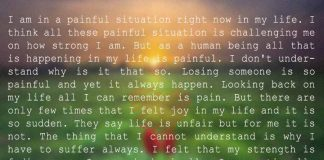I am in a Painful Situation Right Now in My Life..., likelovequotes.com ,Like Love Quotes