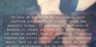 To Love at All is to be Vulnerable, likelovequotes.com ,Like Love Quotes