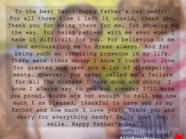 To the best Dad!! Happy Father's Day Daddy!!, likelovequotes.com ,Like Love Quotes