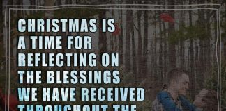 Christmas is a time for reflecting on the blessings we have received throughout the year. You are my number one blessing since the day we first met.