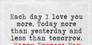 Each Day I Love You More, Today -likelovequotes