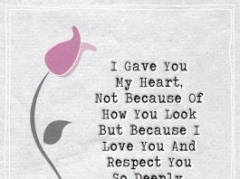I Love You And Respect You So Deeply -likelovequotes