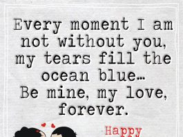 Every Moment I Am Not Without You -likelovequotes