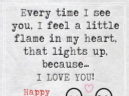 Every Time I See You I Feel A Little -likelovequotes