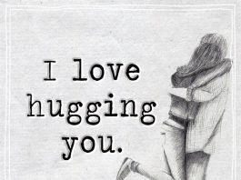 I Love Hugging You-likelovequotes