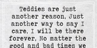 Teddies Are Just Another Reason-likelovequotes