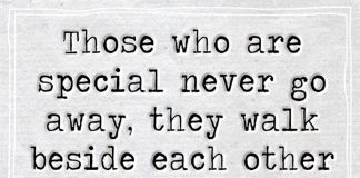 Walk Beside Each Other Everyday-likelovequotes