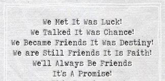 We Became Friends It Was Destiny -likelovequotes