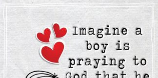 Imagine a boy is praying to God that he gets to marry you -likelovequotes