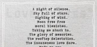 A night of silence -likelovequotes