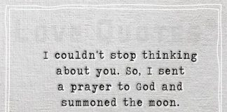 I couldn't stop thinking about you-likelovequotes