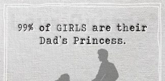 99% of GIRLS are their Dad's Princess -likelovequotes