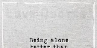 Being alone better than being with liars-likelovequotes.com