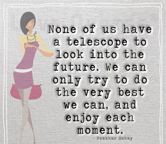 Enjoy each moment -likelovequotes.com