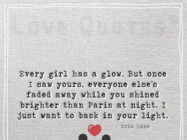 Every girl has a glow -likelovequotes.com