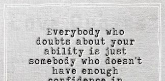 Everybody who doubts about you is just-likelovequotes.com