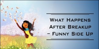What Happens After Breakup - Funny Side Up-likelovequotes.com