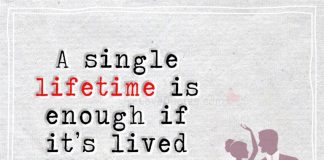 A Single Lifetime Is Enough If It's-likelovequotes