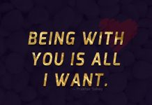 Being With You Is All I Want-likelovequotes