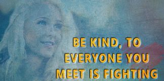 Everyone You Meet Is Fighting A Hard Battle -likelovequotes
