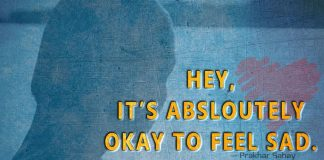 Hey, It's absloutely Okay to feel sad -likelovequotes