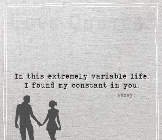 In This Extremely Variable Life-likelovequotes