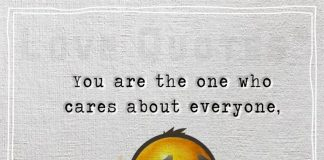One Who Cares About Everyone -likelovequotes
