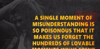 A Single Moment Of Misunderstanding Is-likelovequotes