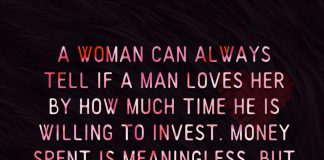 How Much Time He Is Willing To Invest -likelovequotes