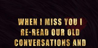 I Re-read Our Old Conversations And Smile-likelovequotes