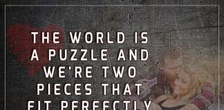 Two Pieces That Fit Perfectly Together -likelovequotes