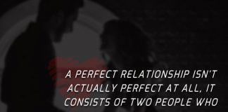 A Perfect Relationship Isn't Actually Perfect -likelovequotes