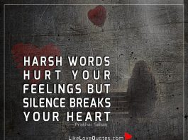 Harsh Words Hurt Your Feelings But-likelovequotes