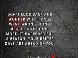 Wonder Why Things Went Wrong -likelovequotes