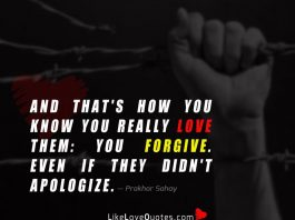 You Forgive. Even If They Didn't Apologize -likelovequotes
