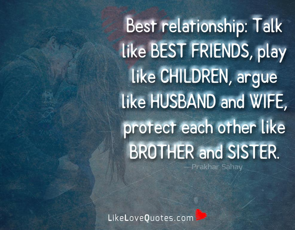 Argue Like Husband And Wife-likelovequotes
