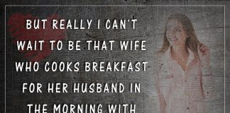 Wife Who Cooks Breakfast For Her Husband-likelovequotes