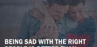 Being Sad With The Right People -likelovequotes