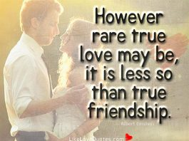 However Rare True Love May Be-likelovequotes