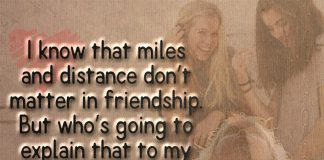Miles And Distance Don't Matter -likelovequotes