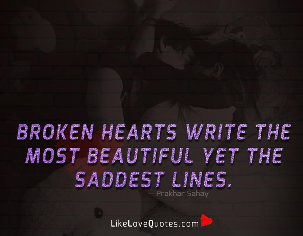 Most Beautiful Yet The Saddest Lines -likelovequotes